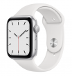 Apple Watch SE 40 mm Silver Aluminum Case with Sport Band