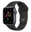 Apple Watch SE 44 mm Space Gray Aluminum Case with Sport Band