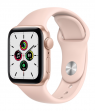Apple Watch SE 44 mm Gold Aluminum Case with Sport Band