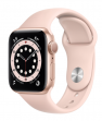 Apple Watch Series 6 40 mm Gold Aluminum Case with Sport Band