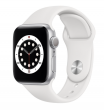 Apple Watch Series 6 40 mm Silver Aluminum Case with Sport Band