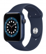 Apple Watch Series 6 44 mm Blue Aluminum Case with Sport Band