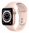 Apple Watch Series 6 44 mm Gold Aluminum Case with Sport Band