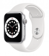 Apple Watch Series 6 44 mm Silver Aluminum Case with Sport Band