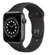 Apple Watch Series 6 44 mm Space Gray Aluminum Case with Sport Band