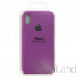 Чехол Apple Silicone Case для iPhone X (purple)